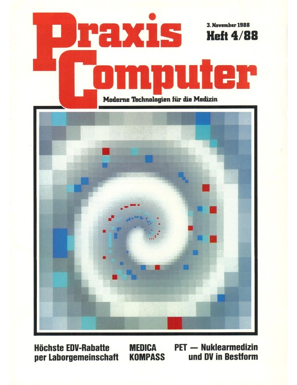 Cover Page of <em>Praxis Computer </em>Volume 4, Issue 88