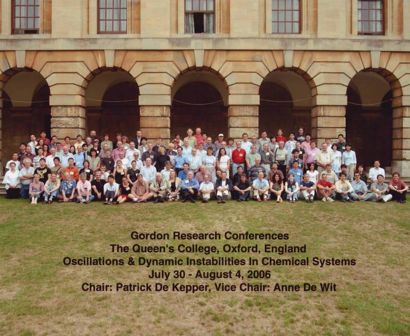 2006 Gordon Research Conference: Oscillations and Dynamic Instability - Group