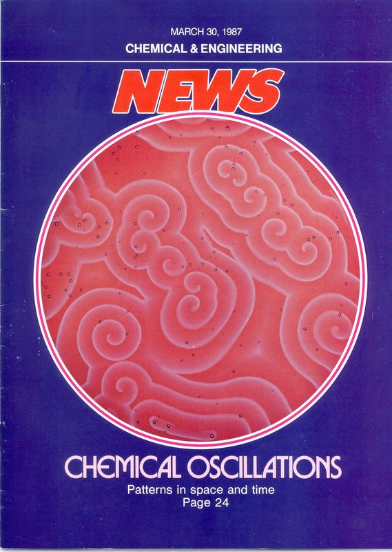 Cover Page of <em>Chemical &amp; Engineering News</em>, 30 March 1987