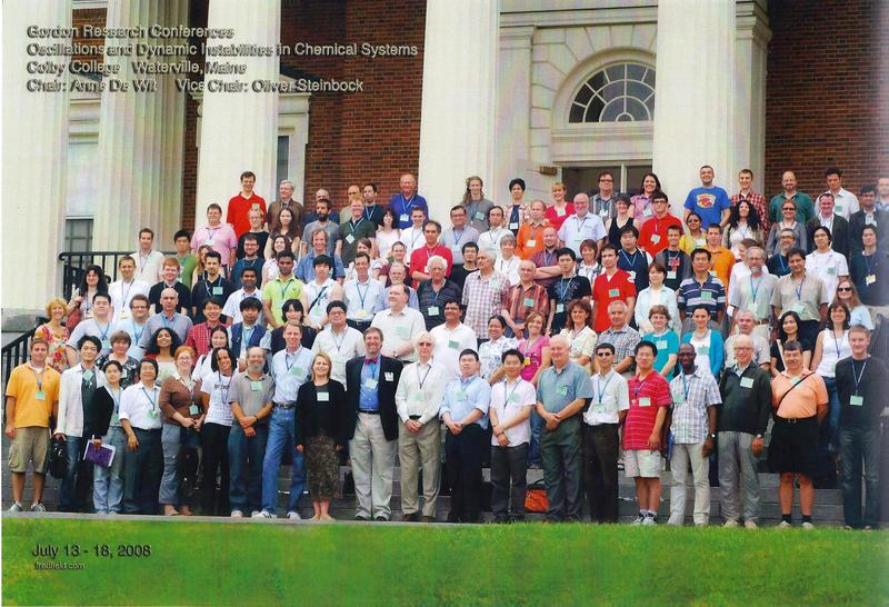 2008 Gordon Research Conferences: Oscillations & Dynamic Instability In Chemical Systems - Group