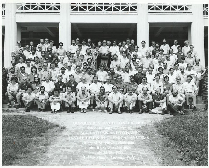 1985 Gordon Research Conferences: Oscillations & Dynamic Instabilities in Chemical Systems - Group
