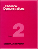 Book cover of Chemical Demonstration, Volume 2 by Bassam Shakhashiri from 1985.