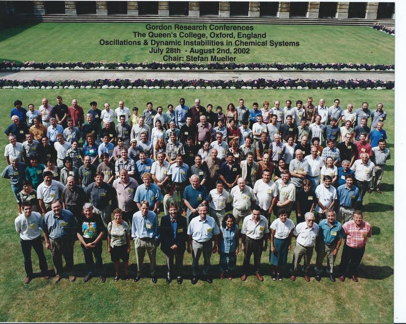 2002 Gordon Research Conferences: Oscillations & Dynamic Instability In Chemical Systems - Group
