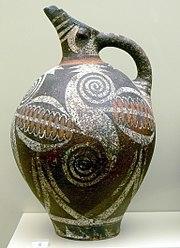 Early Minoan jar from Crete, Greece