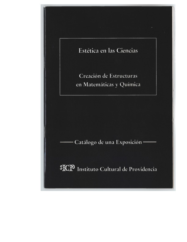 coverpage of booklet in spanish