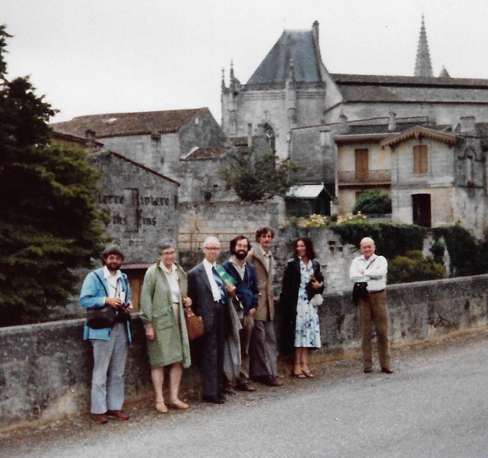 1978_Bordeaux-St Emillion_Richard FIELD- Mme NOYES-Richard NOYES-Irving EPSTEIN-Patrick DE KEPPER-Etiennette DULOS-E KOROS.jpg