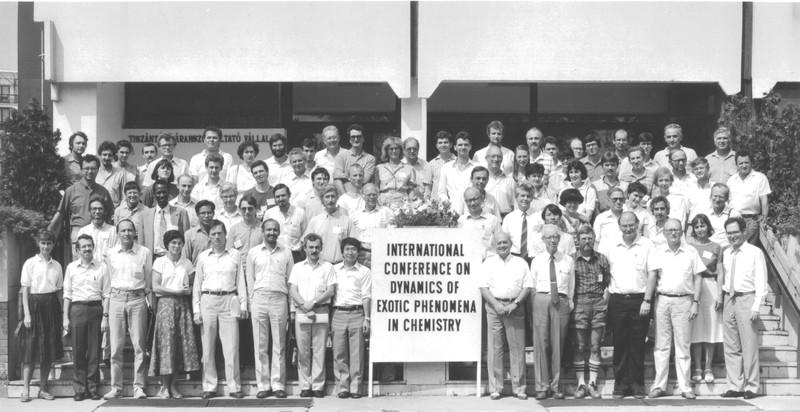 1989 Hajdúszoboszló Conference Group Photo