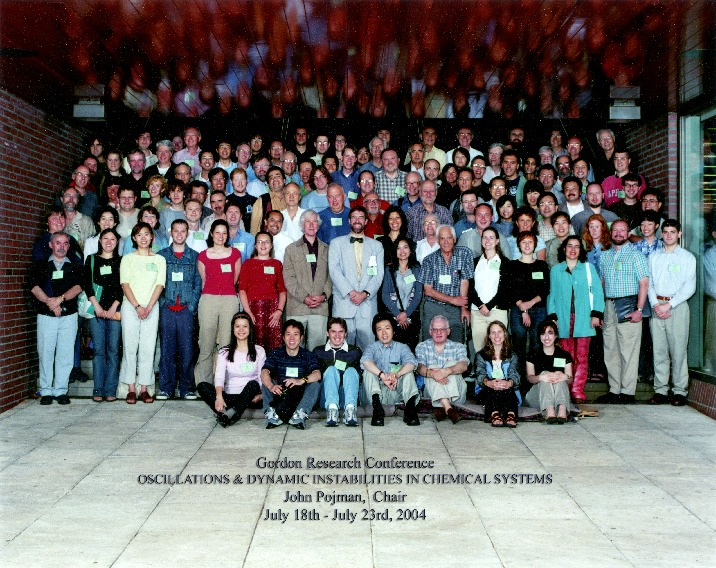 2004 Gordon Research Conference on Oscillations & Dyn. Instabilities in Chemical Systems Group Photo