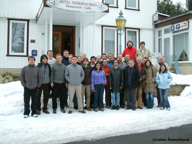 2006 Harzseminar on Pattern formation in chemistry and Biophysics - Group