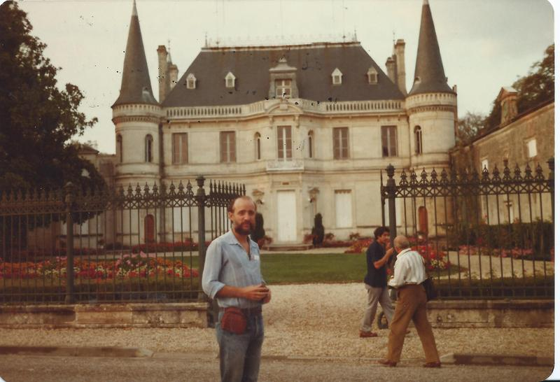 Winfree at the Bordeaux Meeting at the Rothschild Estate (1981)