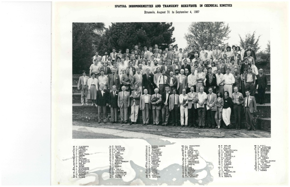 1987 Brussels Meeting - group and names