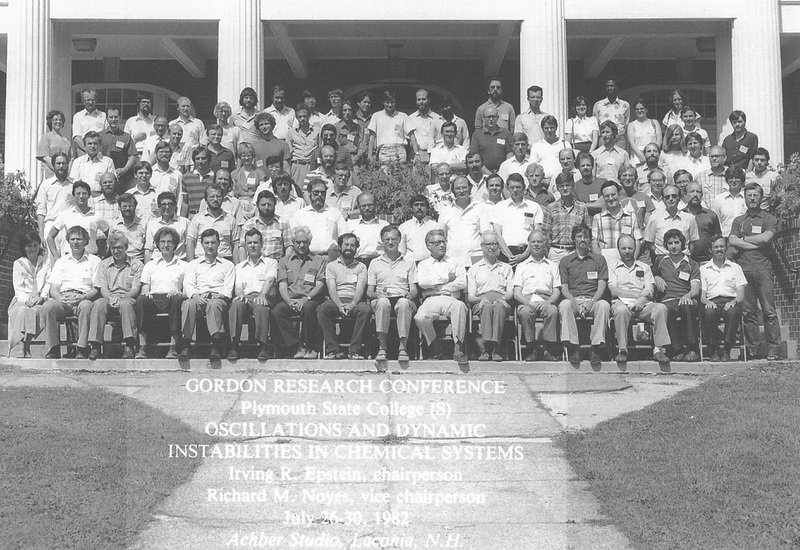 1982 Gordon Research Conference Oscillations & Dynamic Instabilities in Chemical Systems - Group