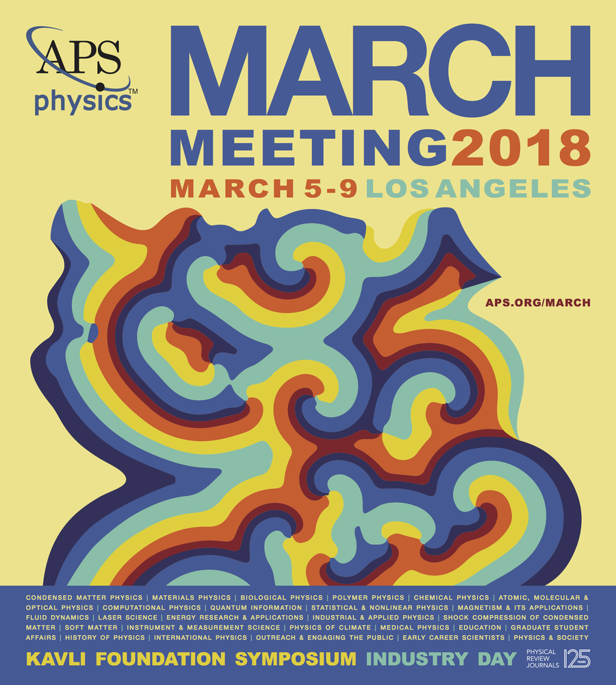 2018 APS March meeting poster.
