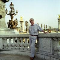 Anatol Zhabotinsky at Pont Alexandre, Paris (1988)