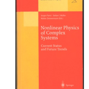 "Cover page of the book ""Nonlinear Physics of Complex Systems"" (1996)"