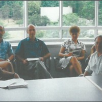 Group meeting of the Epstein Laboratory (1997)