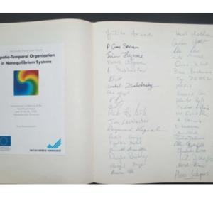 1992 Dortmunder Dynamische Woche - Sign-in-sheets <br /><br /> <br /><br />