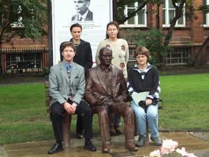 Group at Turing Memorial