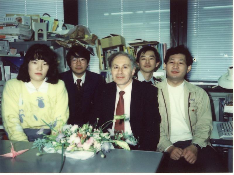 Anatol Zhabotinsky in Kyoto (1991)