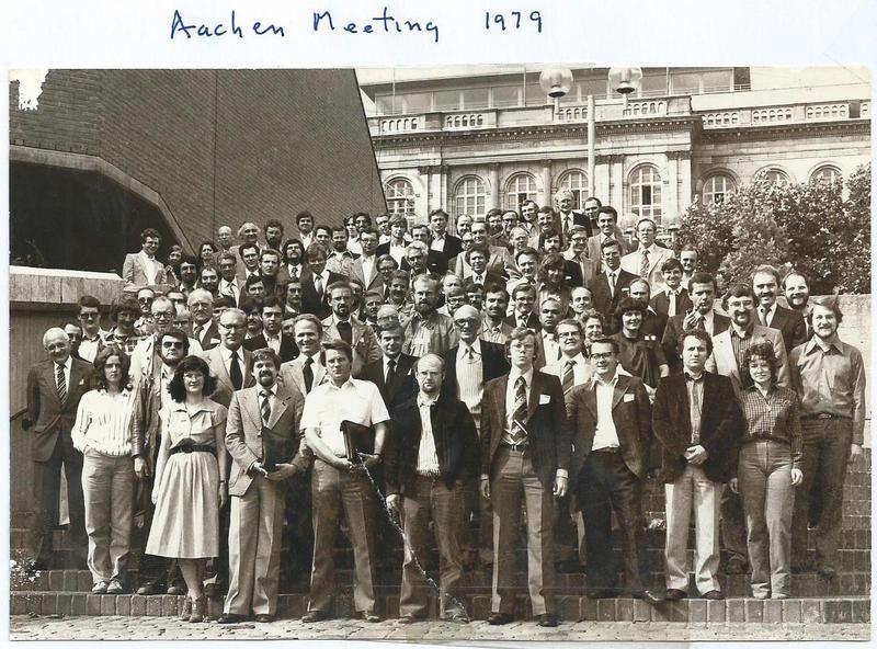 1979 Aachen - Group