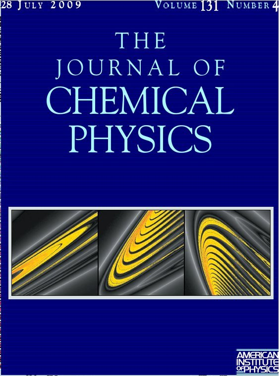 Cover Page of The Journal of Chemical Physics Volume 131, Issue 4, 28 July 2009