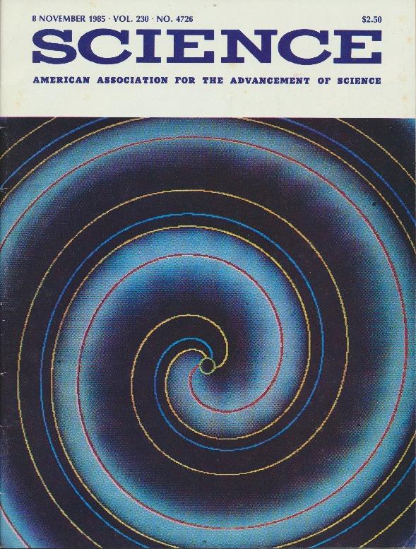 Cover Page of <em>Science</em>: Volume 230: Issue 4726, 08 November 1985.