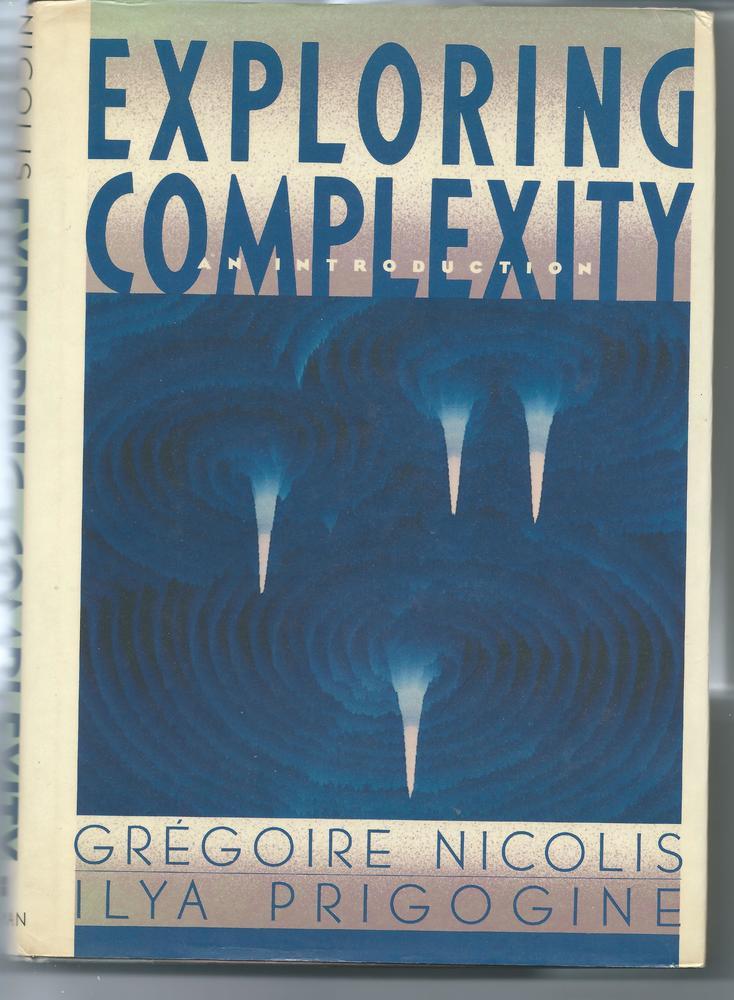 Book Cover of the 1998 book by Nicolis and Prigogine.