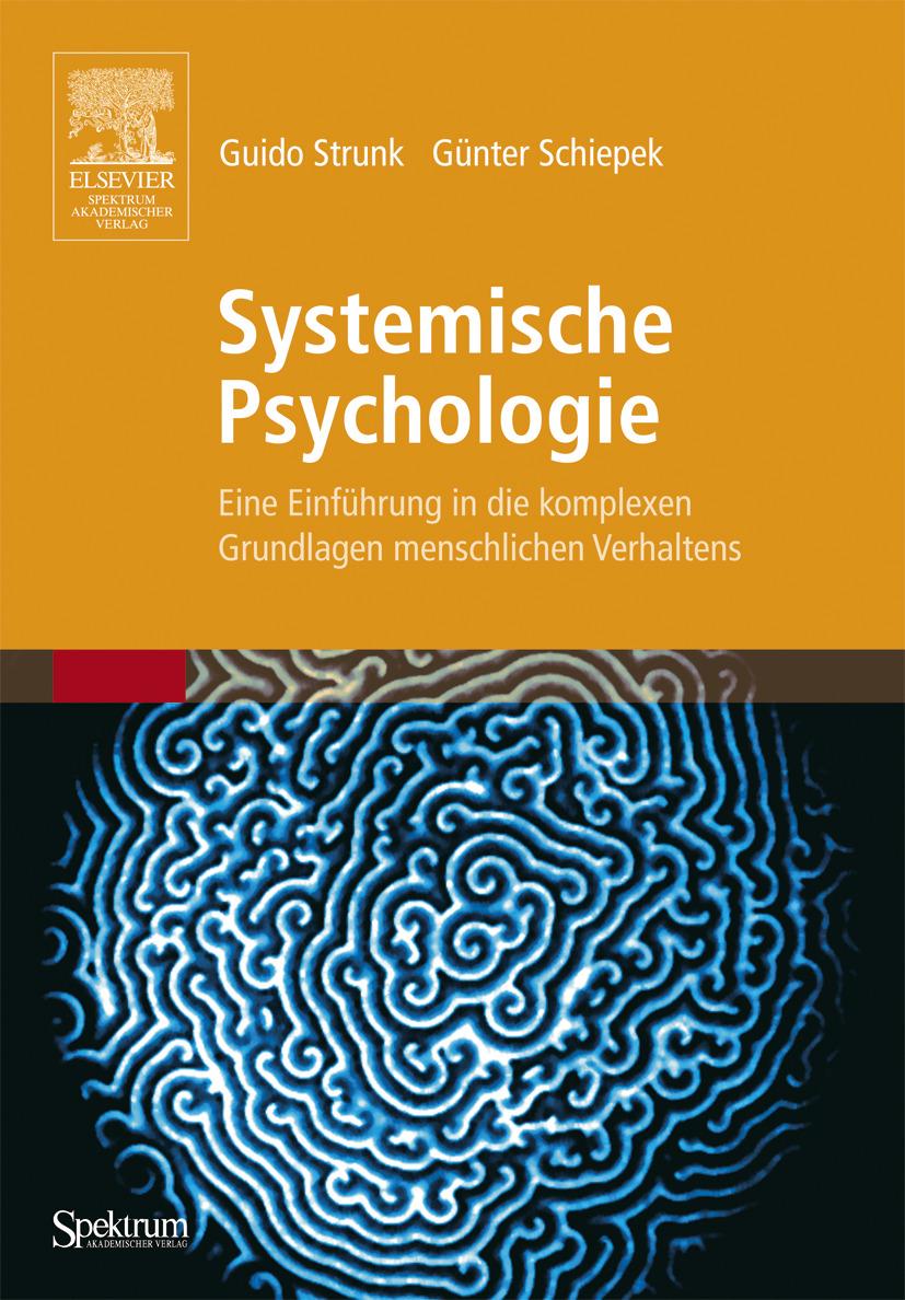 """Cover page of the book """"Systemische Psychologie - Eine Einführung in die komplexen Grundlagen menschlichen Verhaltens"""" (2006)"""
