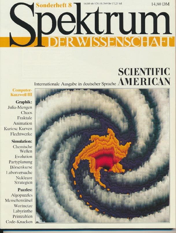 1989 Spektrum der Wissenschaften