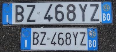 Bolzano vehicle registration
