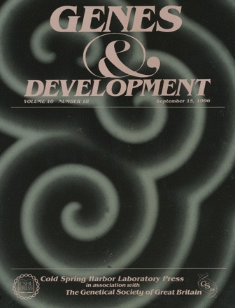 Cover Page of Genes & Development, Volume 10, Issue 18, 15 September 1996