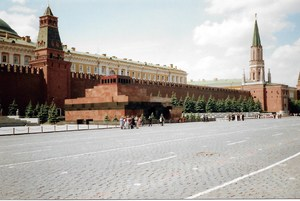 in Moscow at the Red Square